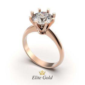 кольцо Intention в красном золоте