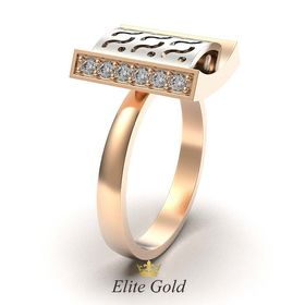 кольцо Narcizza в профиль