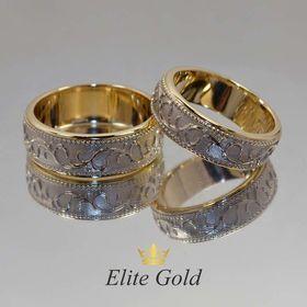 ажурные обручальные кольца без камней фото