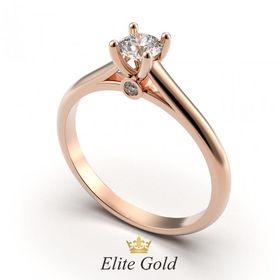 кольцо Charlotte в классическом оттенке золота 585 пробы