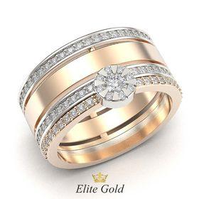 кольцо Brianna в комплекте с обручальным Only Love