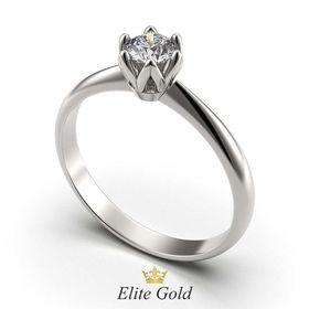 кольцо Cordelia в белом золоте