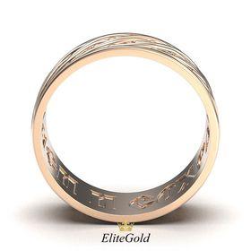 кольцо Covenant с надписью Спаси и сохрани