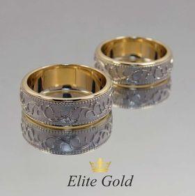 ажурные обручальные кольца без камней
