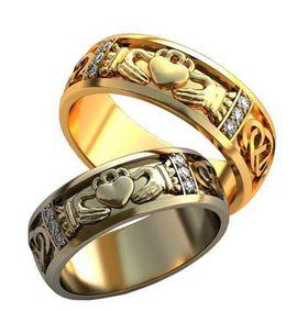 кладдахские кольца обручальные