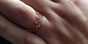 Классическое кольцо корона Grace с камнями