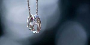 обручальное и помолвочное кольцо