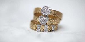 кольцо с плетением