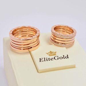 кольца в красном золоте