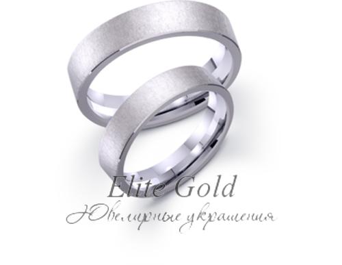 матовые классические обручальные кольца
