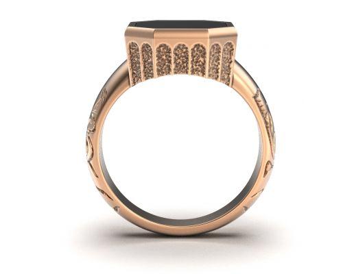 вид кольца сбоку