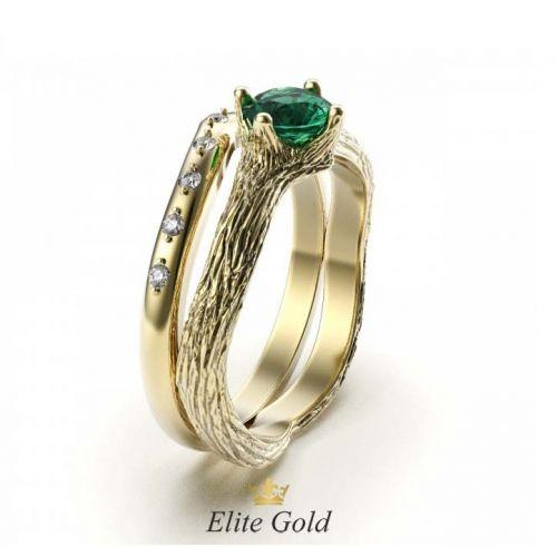 кольцо Faerie - вид сбоку