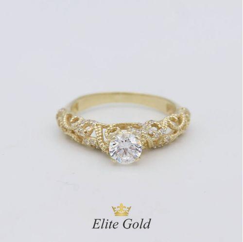 Дизайнерское кольцо для помолвки Champagne Dreams