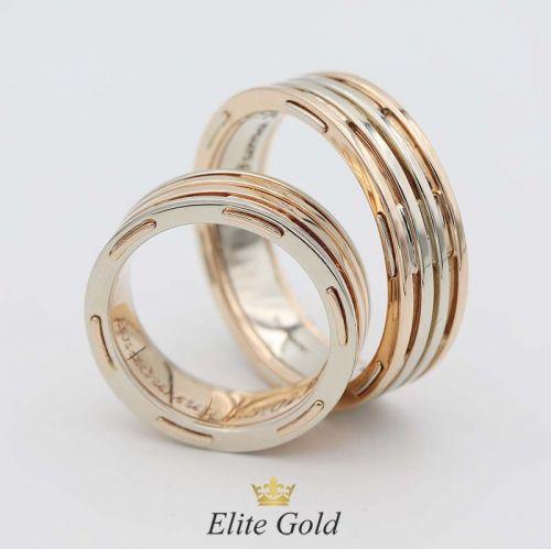 кольца Простые линии - оба без камней