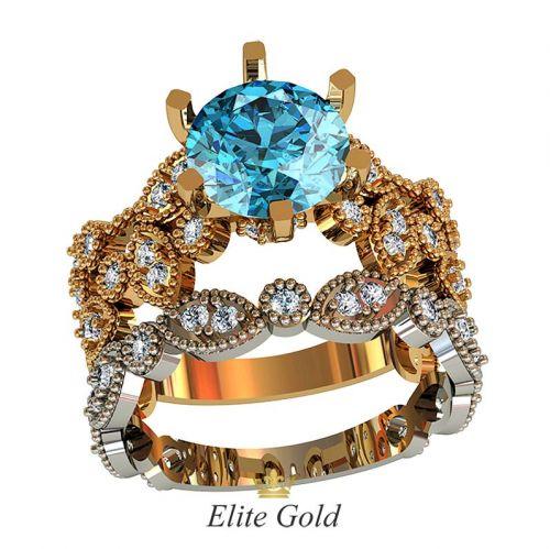 кольца Viviana в 2 цветах золота