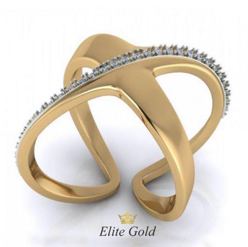 Дизайнерское женское кольцо Olas
