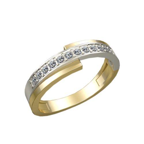 женское кольцо в виде спирали
