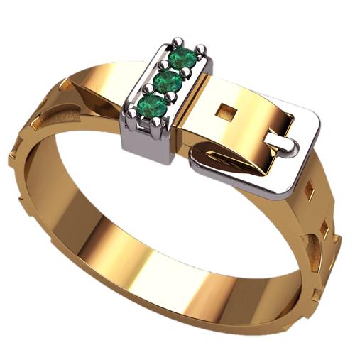 кольцо в виде ремня