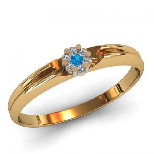 женское помолвочное кольцо