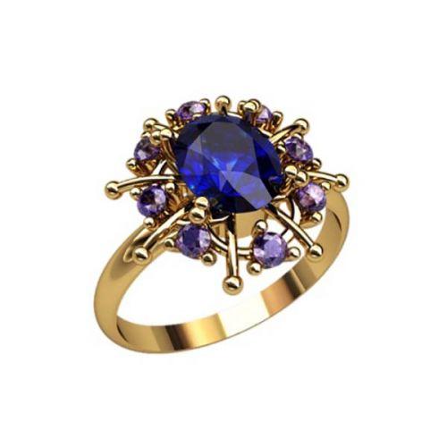 кольцо в видео солнца