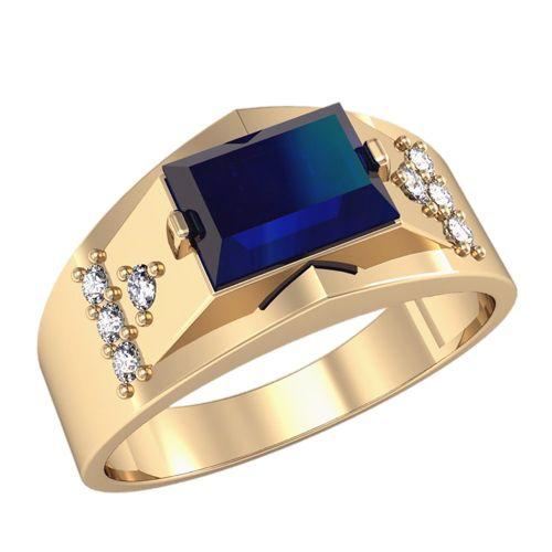 кольцо с камнем прямоугольным мужское
