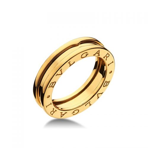 кольцо в стиле bvlgary без камней