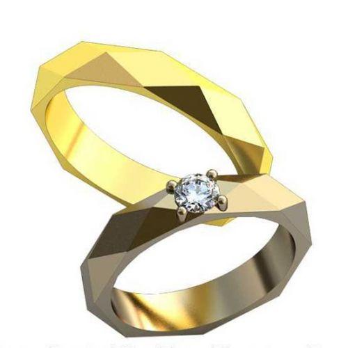 кольца обручальные бушерон