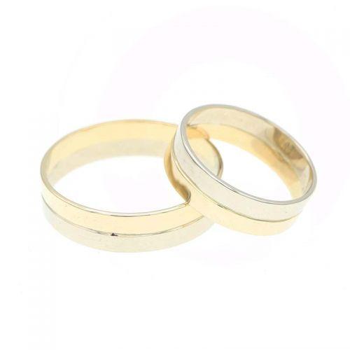 обручальные кольца из двух частей