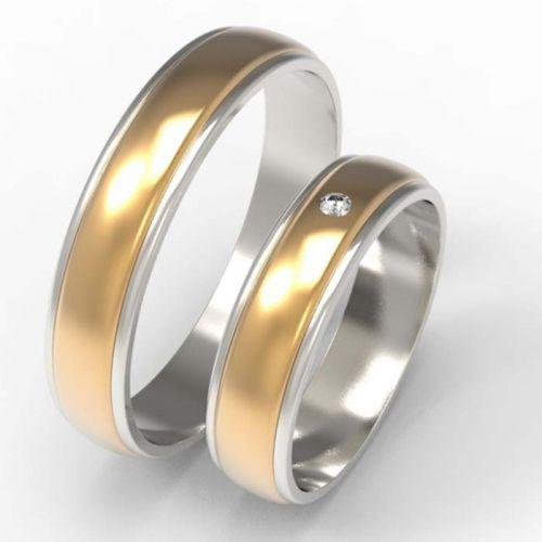 обручальные кольца с накладками
