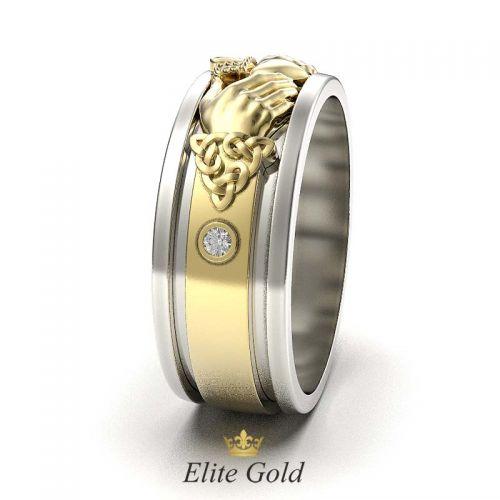 кладдахское кольцо eternity в профиль