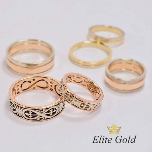 обручальные кольца Insignia без камней