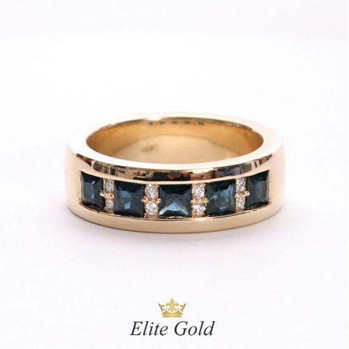 мужское кольцо в красном золоте