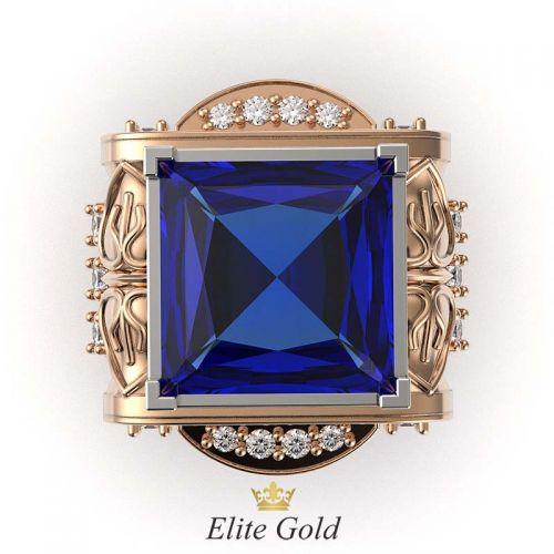 мужской перстень Imperial Glory вид сверху