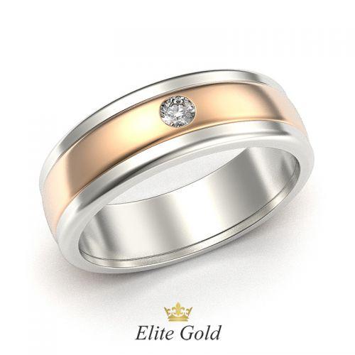 кольцо Dominica в 2 цветах золота