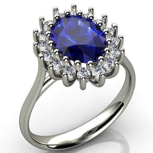 кольцо Принцессы Дианы фото