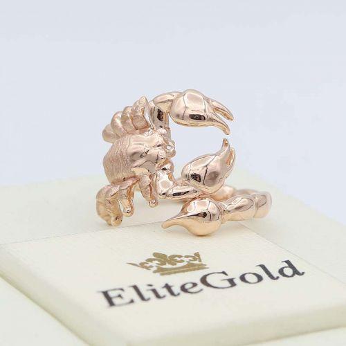 кольцо Скорпион - вид с другой стороны