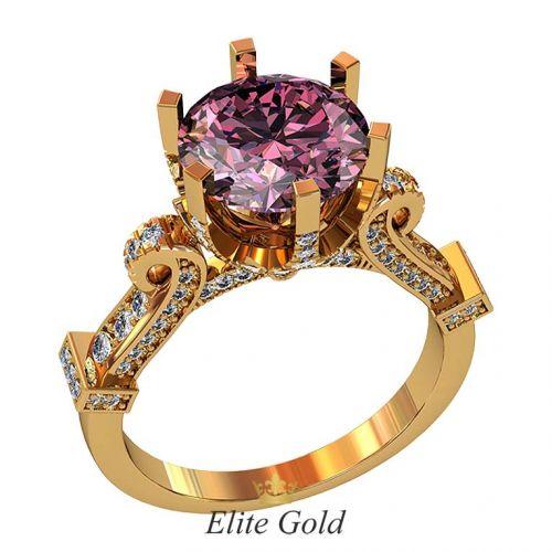 кольцо Vinona в красном золоте