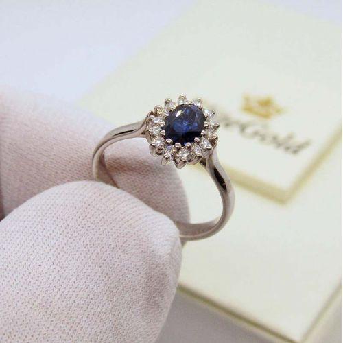 кольцо Принцессы Дианы, уменьшенная копия