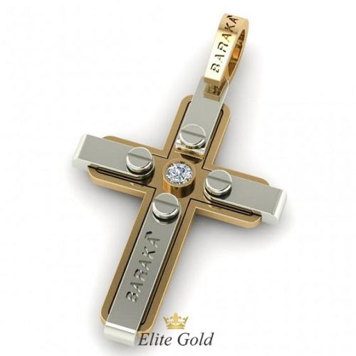 крест Барака с центральным камнем
