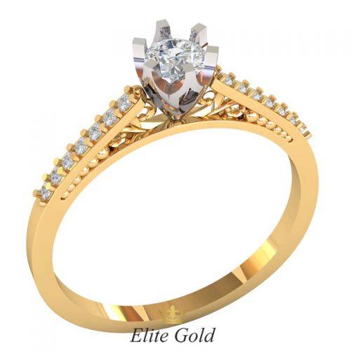 изящное кольцо для помолвки Blessing