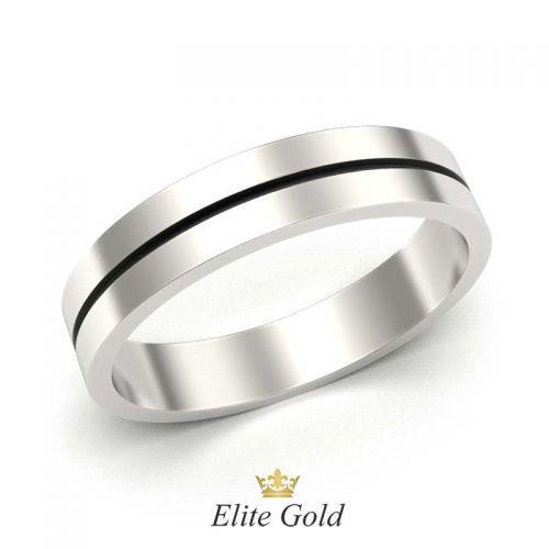 кольцо Minimalist с ровными краями