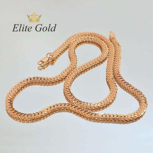 плетение ауди в красном золоте