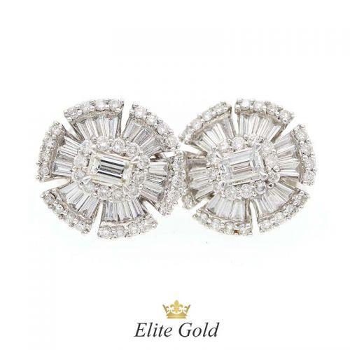серьги Imperatrice в золоте 750 пробы со 110 бриллиантами