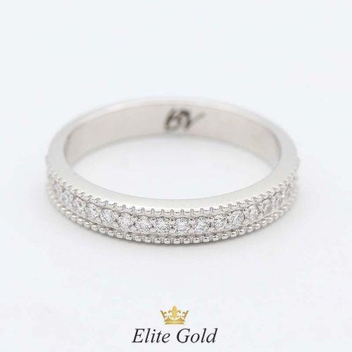 кольцо Safira в белом золоте