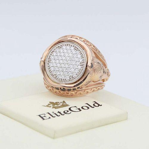кольцо Arena с россыпью камней
