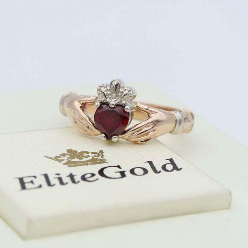 кольцо Red Heart Petite с камнем