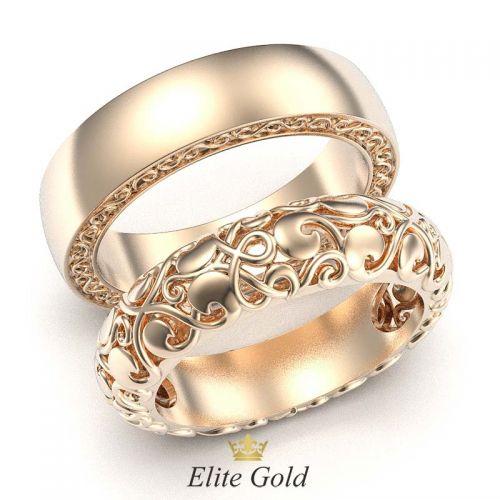 ажурные кольца Ника - версия без камней