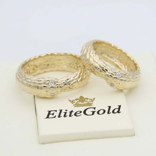 в лимонном золоте с бриллиантами