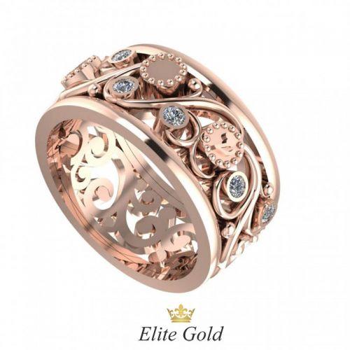 Золотое женское кольцо Tahira