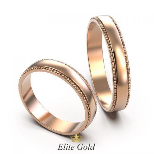 Авторские обручальные кольца Orbis с классическим дизайном